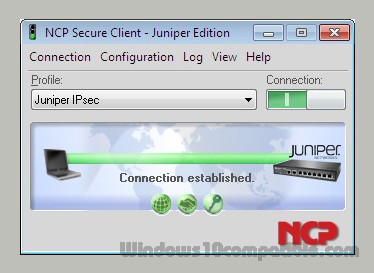 NCP Secure Client - Juniper Edition 9 32 218 Free download